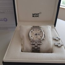 Montblanc Star 39mm Automatik Chronograph Steel dial - Steel...