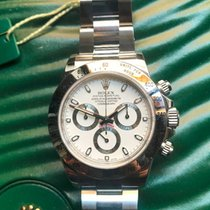 Rolex Daytona 116520 White Dial APH Light Blue