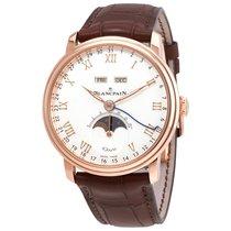 Blancpain Villeret Complete Calendar 8 Days Men's Watch
