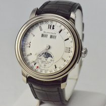 Blancpain Leman Complete Calendar Moonphase Hundred Hour 18k...
