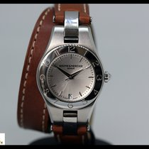 Baume & Mercier Linea steel quartz watch