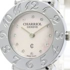 Charriol St-tropez Pink Mop Steel Quartz Ladies Watch 028a...