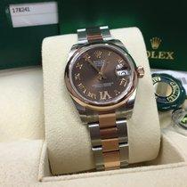 Rolex Cally - 178241 VI 31mm Datejust Brown Roman Diam Dial [NEW]