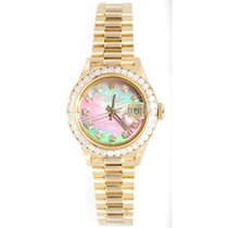 Rolex Presidential 69178 Lady's 18K Yellow Gold Custom...