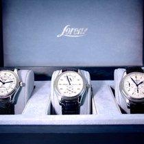 Lorenz 3 Uhren -Chromo, GMT, Regulator