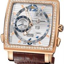 Ulysse Nardin Quadrato Dual Time Perpetual 326-90b/91