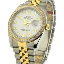 Rolex Unworn 179383 Datejust 26mm with 46 Diamond Bezel -...