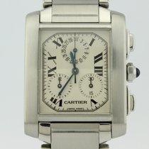 Cartier Tank Francaise Chronoflex  Quartz 2303 Unisex