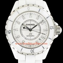 Chanel J12 Auto - index diamants