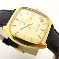 Omega Constellation chronometer lady gold 18 kt automatic