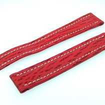 Breitling Band 15mm Hai Rot Red Roja Shark Strap Correa Für...