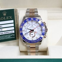 Rolex Yacht Master II 116681 18K Rose Gold & Steel Box...
