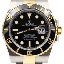 勞力士 (Rolex) Submariner 116613LN 40mm Black Ceramic Yellow Gold...