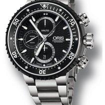 Oris ProDiver Chronograph Titanium Strap Men's Watch...