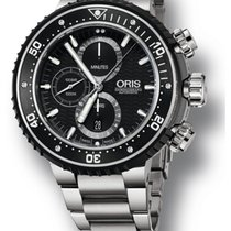 Oris ProDiver Chronograph Titanium Strap Men's Watch...