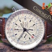 Breitling 46mm Navitimer World GMT Chronograph von 2017, Ref....
