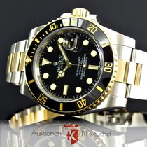 Rolex Submariner Gold Stahl Ref. 116613LN Full Set LC EU...