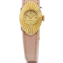 Rolex | A Lady's Yellow Gold Oval Wristwatch Ref 9667...