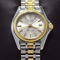 Tudor Monarch 18k Yellow Gold/ Stainless Steel 27mm Lady's...