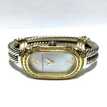David Yurman 18k Yellow Gold & 925 Silver Ladies Bracelet...