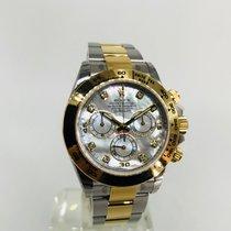 Rolex 2 Tone Daytona MOP Diamond 116503