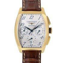 Longines Evidenza Mens Yellow Gold Quartz Watch L2.643.6.73.2