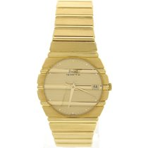 Piaget Vintage Piaget Polo 18K Yellow Gold Watch 393390