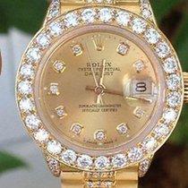 Rolex Ladies President Diamond Dial, Oversized Bezel,lugs,...