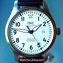 IWC Pilot Mark XVIII Automatic Silver Dial Steel 40mm, Ref....