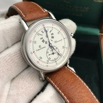 Chronoswiss Ch1523 Stainless Steel W/ Leather Mens Watch Pre...