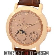 Patek Philippe Complications Moonphase Power Reserve 18k Rose...