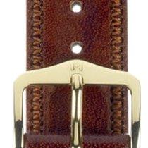 Hirsch Uhrenarmband Leder Ascot goldbraun 01575070-1-19 19mm