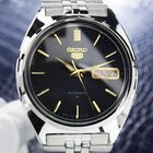 Seiko 5 Jumbo Automatic 37mm 1970s Ss Retro Made In Japan...