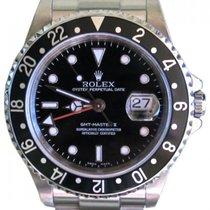 Rolex GMT-Master II 16710 Men's 40mm Black Stainless Steel...