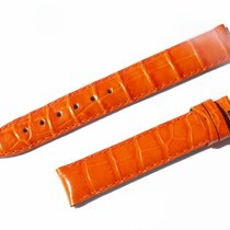 Chopard Croco Band Strap Orange 15 Mm 70/110 New C15-9 -70%