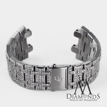 Audemars Piguet Diamond Bracelet For  Royal Oak Offshore 10 Ct...