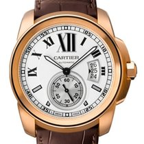 Cartier Calibre De Cartier Silver Dial Mechanical Mens Watch...