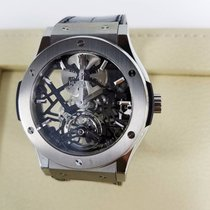 Hublot Skeleton Tourbillon Titanium Limited Edition  of 99