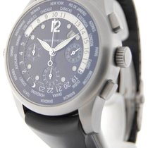 Girard Perregaux World Time Chronograph Titanium Automatic...