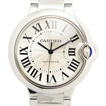 カルティエ (Cartier) Ballon Bleu Stainless Steel Silvery White...