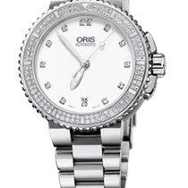 Oris Aquis Date Diamonds, Diamond Set, Steel Bracelet