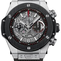 恒寶 (Hublot) Big Bang 45 mm Unico Titanium Ceramic Rubber...