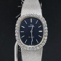 Ωμέγα (Omega) De Ville Diamonds 18k White Gold Ladies