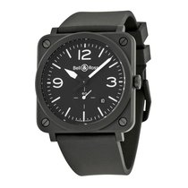 Bell & Ross Men's BRS-BL-CEM Aviation Ceramic Matte Watch