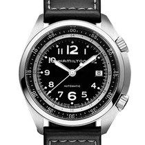 Hamilton Men's H76455933 Khaki Aviation Pilot Pioneer Auto