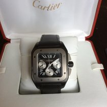 Cartier Santos 100 XL Cronograpg titanium 55x47 mm