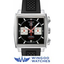 TAG Heuer MONACO Chrono Calibro 12 Racing Ref. CAW2114.FT6021