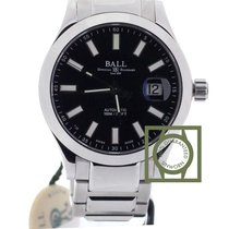 Ball Engineer II Marvelight 40mm Steel Black Dial NEW
