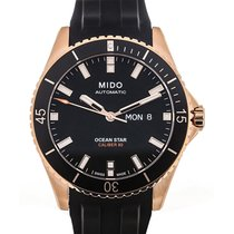 Mido Ocean Star Captain 43 Day Date Black Dial