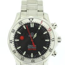 Omega Seamaster Apnea Stainless Steel Jacques Mayol Red...
